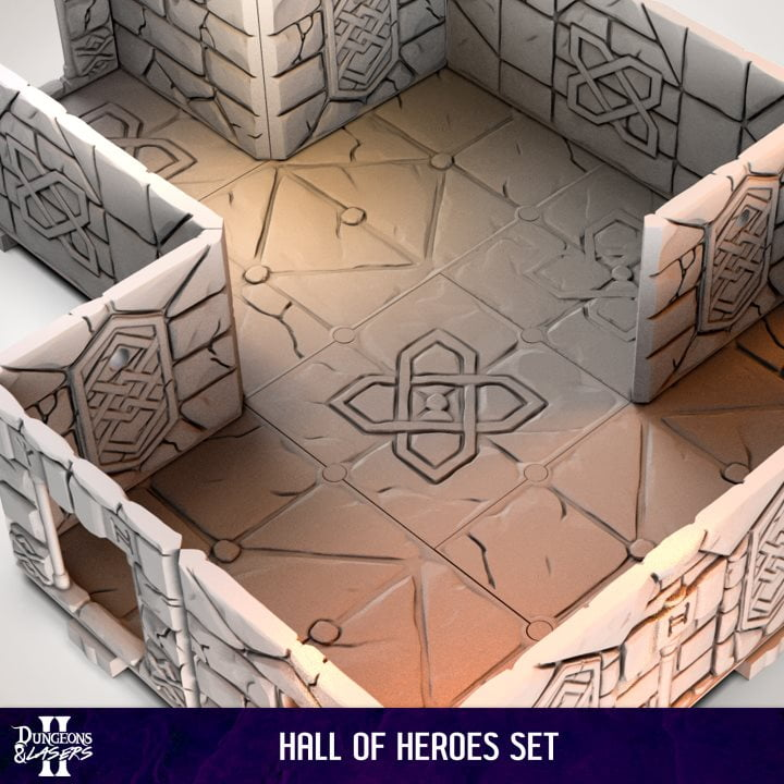 HALL OF HEROES SET