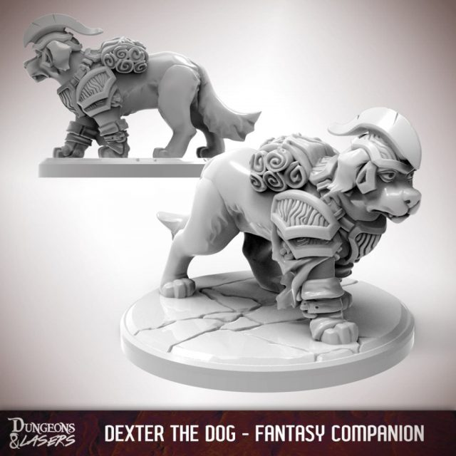 D&L - 1x1 - companions fantasy - dog 1