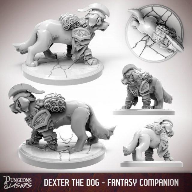 D&L - 1x1 - companions fantasy - dog 2