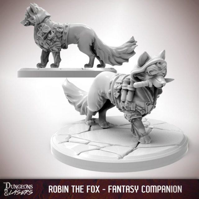 D&L - 1x1 - companions fantasy - fox 1