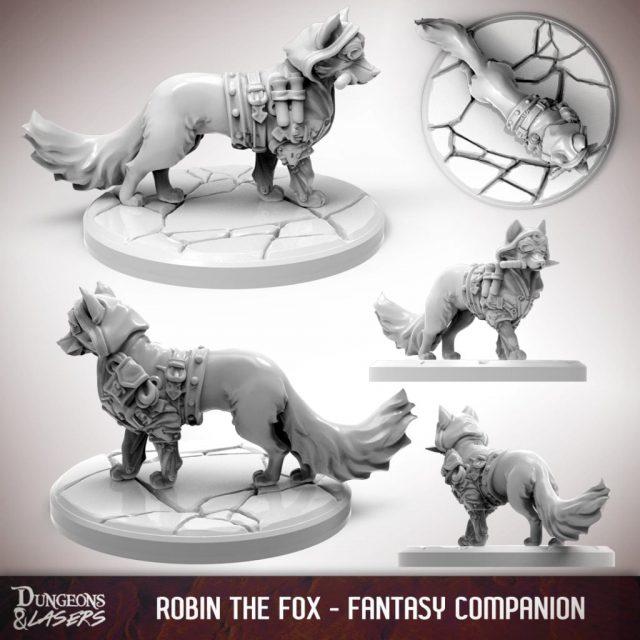 D&L - 1x1 - companions fantasy - fox 2