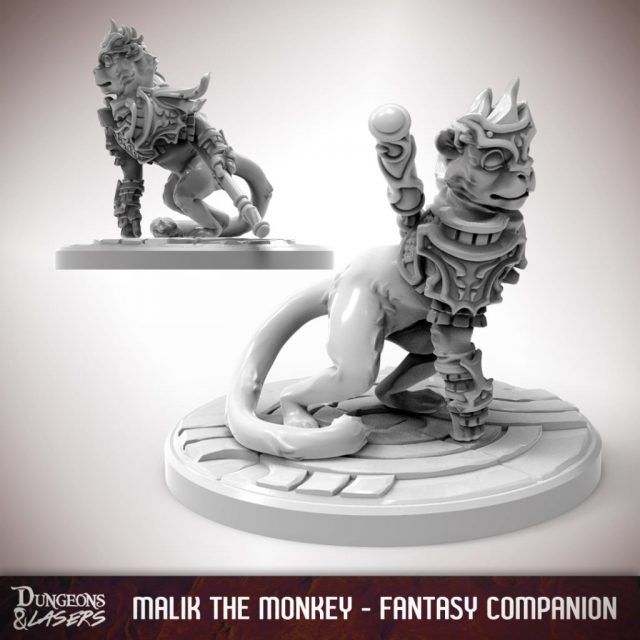 D&L - 1x1 - companions fantasy - monkey 1