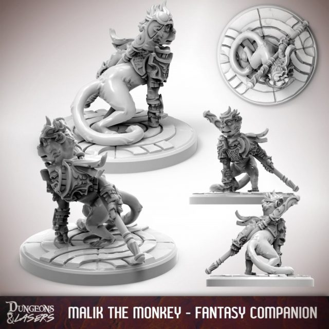 D&L - 1x1 - companions fantasy - monkey 2