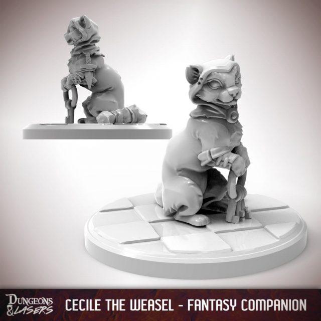 D&L - 1x1 - companions fantasy - weasel 1