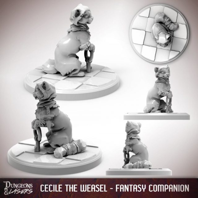 D&L - 1x1 - companions fantasy - weasel 2