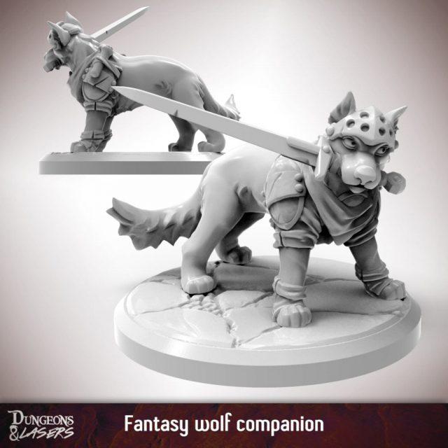 D&L - 1x1 - companions fantasy - wolf 1