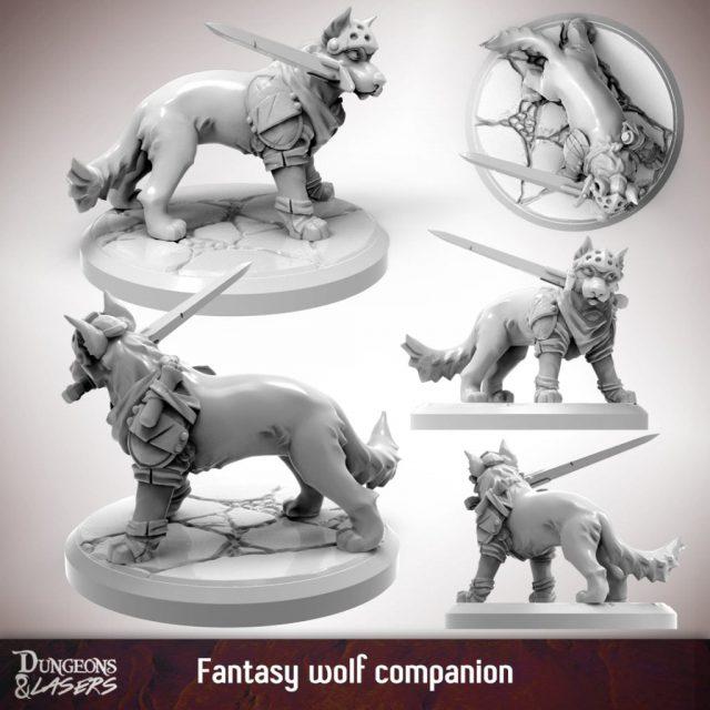 D&L - 1x1 - companions fantasy - wolf 2