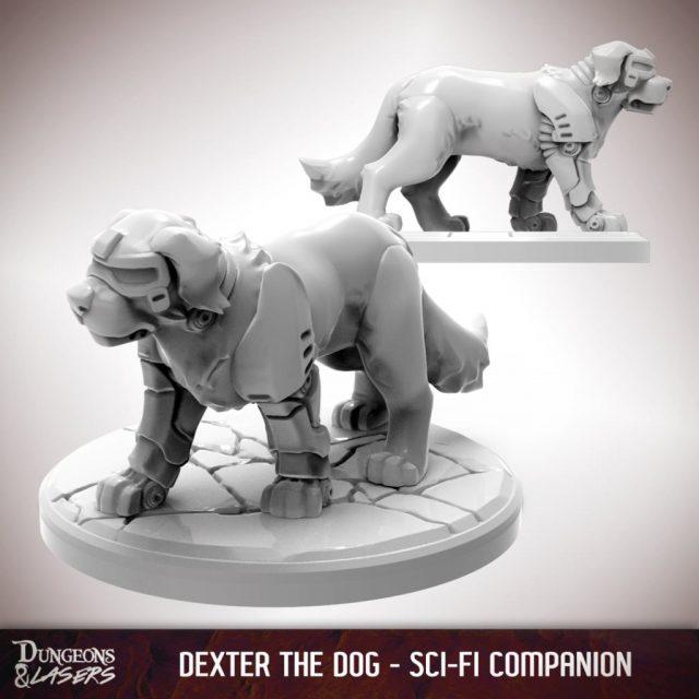 D&L - 1x1 - companions sci-fi - dog 1