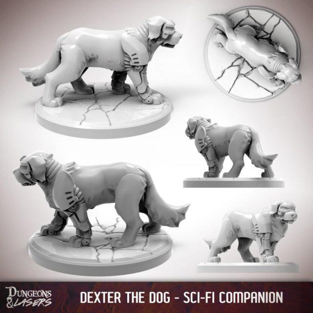 D&L - 1x1 - companions sci-fi - dog 2