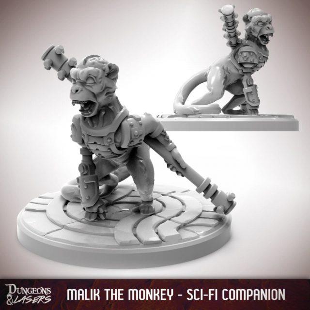 D&L - 1x1 - companions sci-fi - monkey 1
