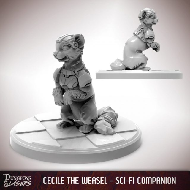 D&L - 1x1 - companions sci-fi - weasel 1