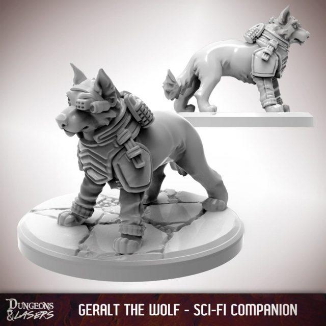 D&L - 1x1 - companions sci-fi - wolf 1